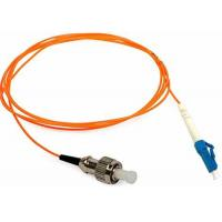 Quality LC / PC - FC / UPC Duplex Cable Patch Cord 3 Meter SM OM3 50 150MM Orange Color for sale