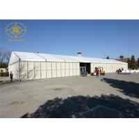 China Temporary Outsize Warehouse Tents High Strength Rust - Resistant Steel Frame on sale