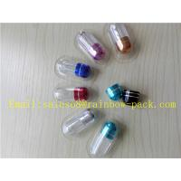 Quality Penis Enlargement Pills Pharmacy Vials Small Capsule Container for sale