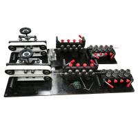 Small CNC Wire Bending Machine 10mm Line With 7 Rear Straightening Pulleys Manufactures