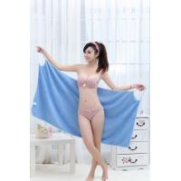 China Women one piece Microfibe swimsuites Magic Swimwear bath towel Summer Beach Dress Bathrobe on sale