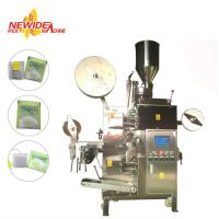 China VFFS Tea Bag Packing Machine , Inner And Outer Buckwheat Tea Bag Filling Machine on sale