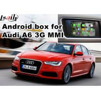 China Audi A6 S6 Video interface Mirror Link Rearview Gps Car Navigation Device Quad Core 1.6 Ghz Cpu on sale
