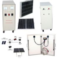 China 600W off grid solar power systems for Homes for mobile phones , MP3 player DC 12V AC 220V on sale