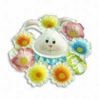 Ceramic Tapas Dish with Glazed Color, OEM Orders are Welcome, Measuring 10 x 34cm Manufactures