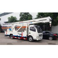 DFAC LHD 22m Aerial Work Platform Truck 4X2 Drive With 24m Working Height Manufactures