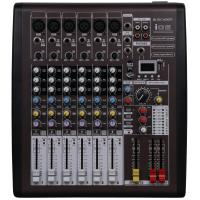 110v - 230v Portable Power Mixer , 6 Channel Dj Music Mixers With DSP I06 Manufactures