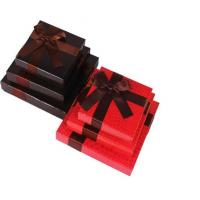 Heart-Shape Lecote Chocolate Gift Packaging Boxes With Food Grade Printing , 157G Coated Paper Boxes Manufactures