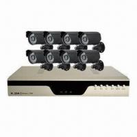 8-CH H.264 Network DVR, Supports 3G Mobile Phone Surveillance Manufactures