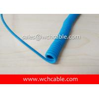 Quality UL21313 Class 1 Internal Wiring Industrial Curly Cable 60C 30V for sale