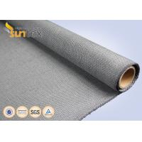 Quality Industrial Fire Curtain Fiberglass Welding Cloth High Temperature Resistant Fabric Up To 750 C for sale