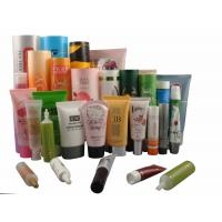 Cosmetic Plastic Hand Cream / Body Lotion Tube Packaging , Gloss Varnish / Hot Stamping Manufactures