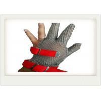 Cut Resistant Stainless Steel Gloves Metal Welded For meat industry Manufactures