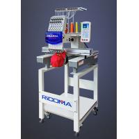 Mixed 12 needle Single Head Embroidery machine with auto-cording device Manufactures