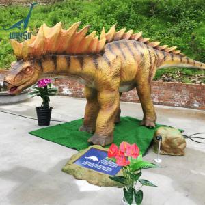 China Amusement theme park animatronic dinosaur amargasaurus life size dino on sale