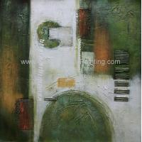 China Modern Decoration Abstract Pattern Hand Painted Oil Painting On Canvas For Interior on sale