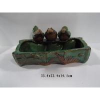 China Ceramic Garden Decoration Bird Bath on sale
