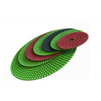 Diamond 125mm Polishing Pad / 5 Inch Flexible Diamond Pads For Engineered Stone Surfaces Manufactures