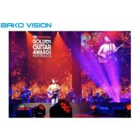 China Flexible Indoor Rental LED Display Panel SMD2121 Easy Installation For Stage Show on sale