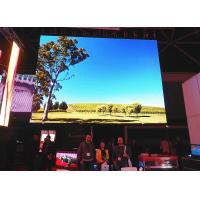Full Color P5 Indoor Advertising LED Display Signs SMD3528 1R1G1B CE , ROHS Manufactures