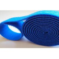 Nylon Colored High Strength Sticky Back Hook And Loop Cable Wrap 2 Inch Reusable Manufactures