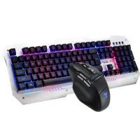 Buy cheap LED Backlit Aula Wired Keyboard Mouse Combo Ergonomic For PC / Laptop from wholesalers