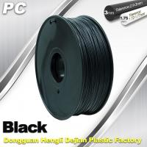 Quality High Transparent 1.75mm / 3.0mm 3D Printer Filament , PC Filament temperature for sale