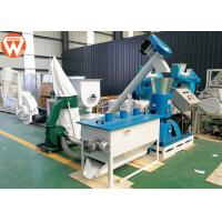 440V Poultry Feed Processing Plant 50 Hz 3 Phase 600 - 800 Kg/H For Wheat Straw Manufactures