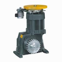 Geared Elevator Traction Machine , VVVF Drive , Escalator Manufactures