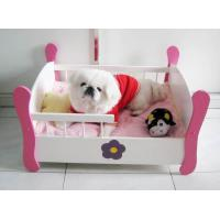 Wooden Luxury Pet Dog Beds, Pet Bed (SFW0802) Manufactures