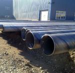 "1/2"" - 48"" Spiral Welded SSAW Steel Pipe API PSL1 PSL2 , DIN17175 / DIN 2448 Manufactures"