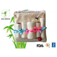 Velour Cloth Bamboo Organic Baby Wipes Gentle Softness For Baby Sensitive Skin Manufactures