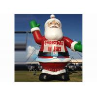 China Popular Giant Advertising Balloons Santa Claus Helium Ballon For Decoration for sale