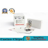 High End Casino Playing Cards For Hotels And Clubs Casino Entertainment Manufactures