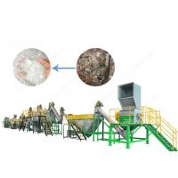 300 - 1500 Kg/H PET Bottle Plastic Washing Recycling Machine with Stainless Steel High Speed Friction Washing Manufactures