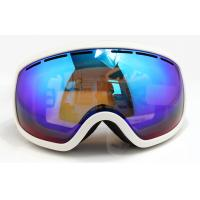 UV Protection Over Glasses Mirrored Ski Goggles with Soft TPU Frame Manufactures