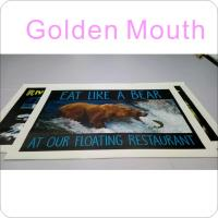 Full Color Custom PVC Banner Printing Service Manufactures