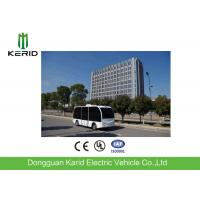 Driverless Solar Powered Electric Car with 10 Seats Satellite Network Control Manufactures
