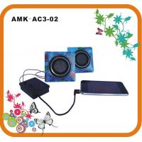 Quality Audio Dynamic Powerful Paper Portable Speakers AMK-AC3-02  for sale