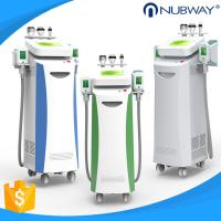 FDA CE approved Nubway 80%  salon clinic used 5 handles cryolipolysis fat freeze slimming machine for face tightening Manufactures