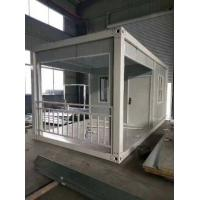Seamless Welded Premade Container Homes Movable For Living ISO Certificated Manufactures