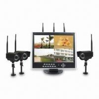 Quality 420TVL Wireless DVR Camera Kit with 4-channel Wireless H.264 DVR System and Graphical Interface for sale