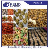 Animal pet food production line dog food machine fish feed making machine Manufactures