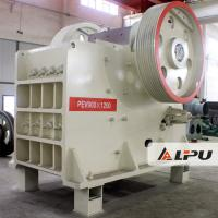 PEV900×1200 Double Toggle Jaw Crusher Stone Crusher Machines 48t Manufactures