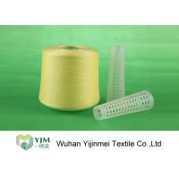 502 Colored Ring Spun Dyed Polyester Yarn , Polyester Twisted Yarn For Knitting / Weaving Manufactures