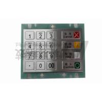 China 16 Key Waterproof ATM Pin Pad Encryption For Kiosk , Stainless Steel Keypad on sale