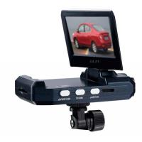 Portable cycle recording 1280*960 car HD dvr, built - in Li - ion battery Manufactures
