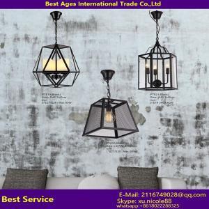 Vintage Style Ceiling Light, Iron Edison Bulb Suspended Pendant Light, Vintage LED Pendant Industrial Light Manufactures