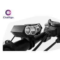 China Waterproof Flashing LED Bike Lights X3 USB Charging Off - Road Bicycle Front on sale