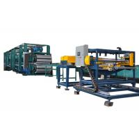 China 6m Roll Forming Continuous PU Sandwich Panel Production Line With Low Noise on sale